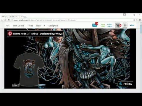 T-Sharks.com - design personalization - YouTube