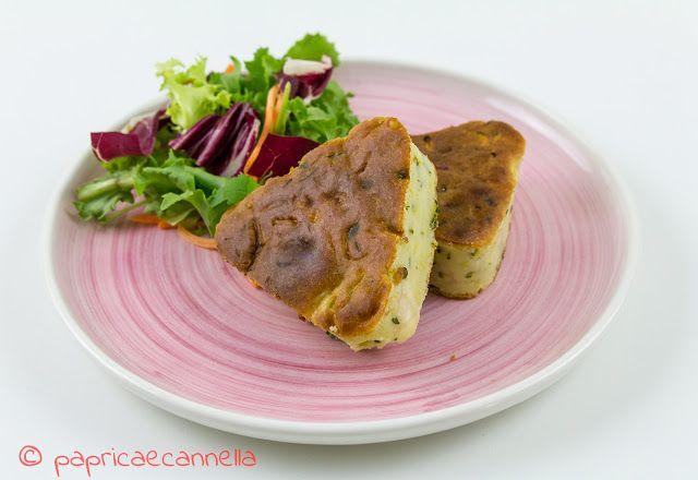 paprica e cannella BLOG: Torta salata con farina di kamut, zucchine e forma...
