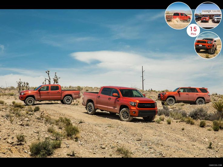 2015 Toyota Tacoma TRD Pro Series and TRD Family - Front ...