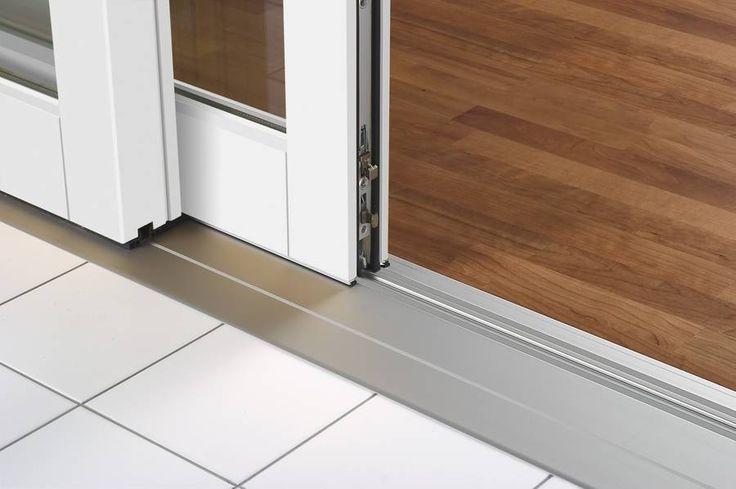Zero Threshold Slidingdoor Universal Design External Doors Door Design Door Thresholds