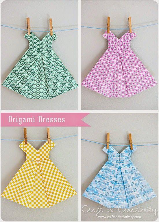 Baby the Kid!: DIY : une robe en origami!