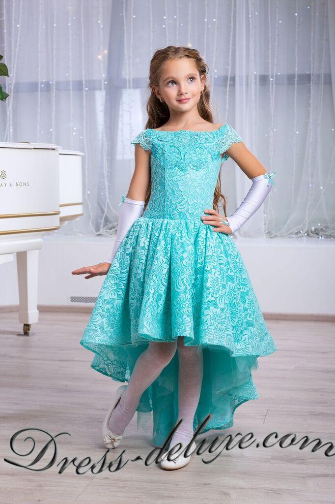 2f58398d02e Платье Сакраменто. Цвет бирюзовый - Детские нарядные платья ...