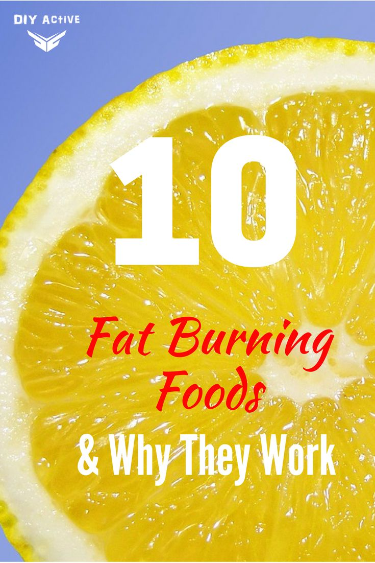 10 Fat Burning Foods and Why They Work via @DIYActiveHQ #nutrition