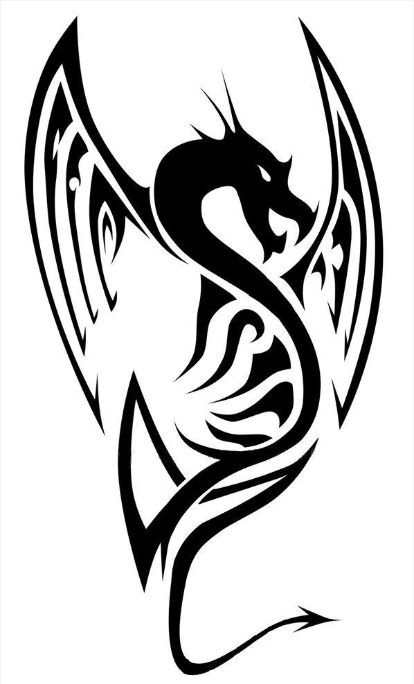 dragon flame fire border celtic - Google Search | Celtic ...