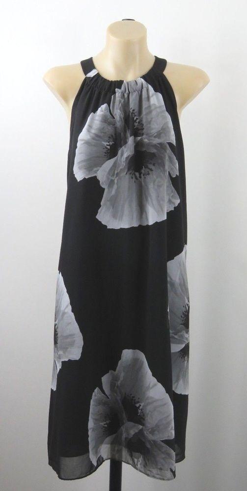 NWT Size M 12 Ladies Black Dress Cocktail Wedding Boho Chic Evening Beach Design #HotOptions #ShiftDress #PartyCocktail