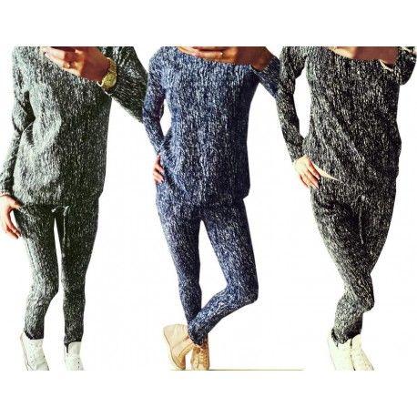 Zobacz marmurkowy komplet, bluza dresowa i spodnie, idealna na spacer jak i do pracy, za jedyne 49,99 zł w sklepie internetowym Magmac.pl