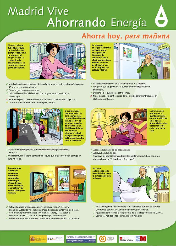 maneras de ahorrar energía