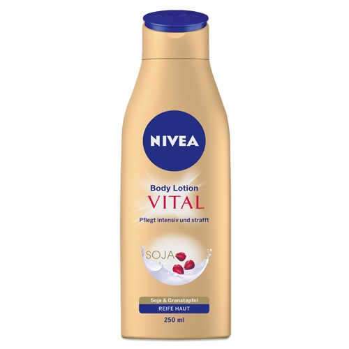 NIVEA Vital Reichhaltige Body Lotion für reife Haut. http://www.nivea.de/Produkte/koerperpflege/beautiful-age-reichhaltige-body-lotion-fuer-reife-haut #nivea #bodycare #bodylotion #antiage