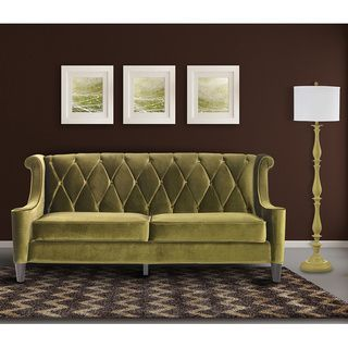 Shop For Modern Green Velvet Sofa. Get Free Shipping At Overstock.com   Your