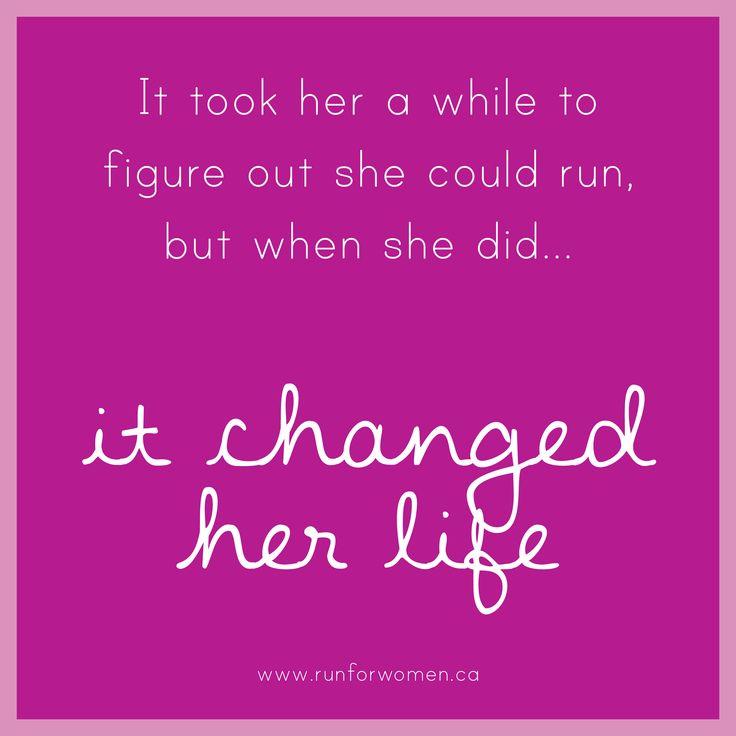 running can be life changing. #runforwomen #womensmentalhealth #running motivation