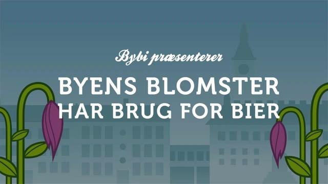 Byens blomster har brug for bier by Bybi. Execution by WhatWeDo #animate #viralanimation