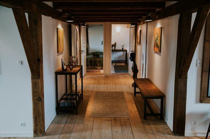 Hallway at Andelen Guesthouse, ærø, Denmark