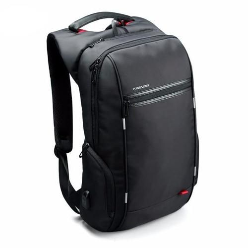 The City Elite Bag - Anti-Theft Water Resistant Smart Backpack w/ USB Charging Port