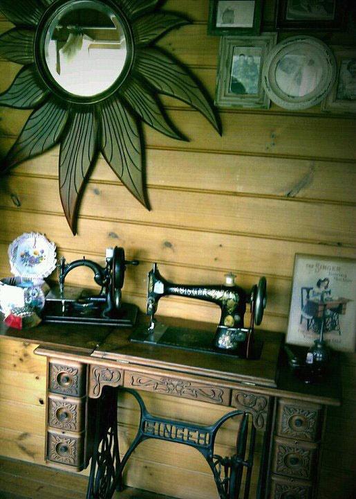 My Singer Treadle Sewing Machine