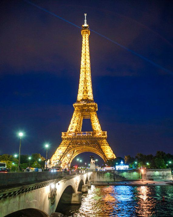 Eiffel Tower Photo Paris Photography France Night Blue Etsy In 2021 Paris Photography Paris Photos Eiffel Tower