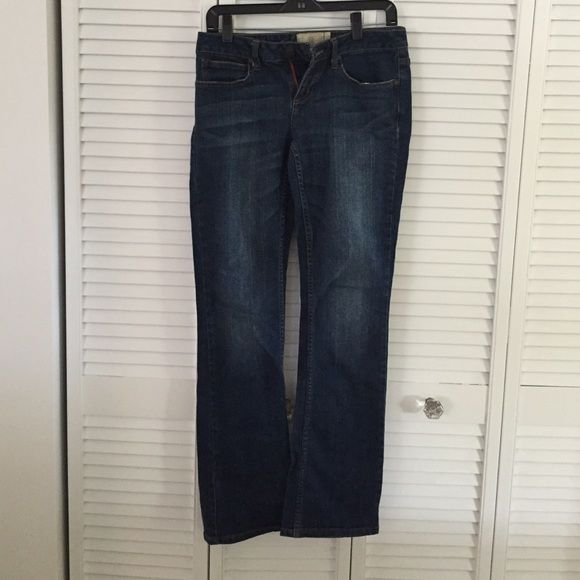 American Rag boot cut jeans Purchased at Macy's. Have a nice stretch to them. Really comfortable. Worn one time for sorority recruitment. American Rag Jeans Boot Cut