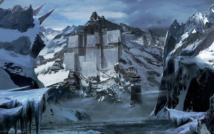 Download 1920x1200 rocks, mountains, wall, snowdrop Wallpaper Widescreen WallpapeprsCraft