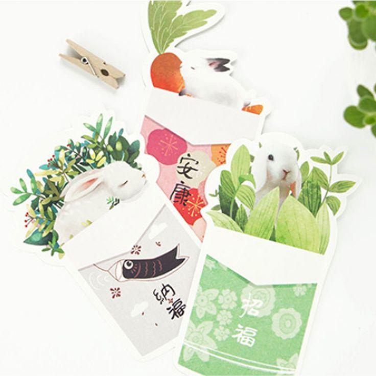 A set of 30 postcards with rabbits. Look good, like self-made cards and as stickers for gifts   Набор из 30 открыток с кроликами. Хорошо выглядят, как самостоятельные открытки и как стикеры на подарки