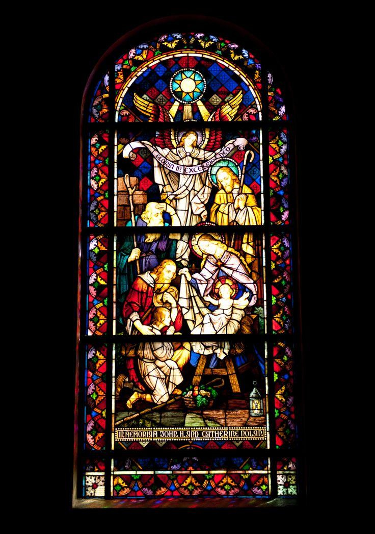 St Josephs Catholic Church Stained Glass Windows Tour