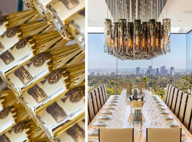 La casa más cara de EE.UU., valorada en 250 millones de dólares, a la venta. La propiedad se encuentra en el exclusivo Bel Air, en Los Ángeles, y cuenta con dos master suites, 10 amplias suites VIP, 21 cuartos de baño de lujo o una piscina infinity, entre otros lujos… Así es la casa más cara del mundo.