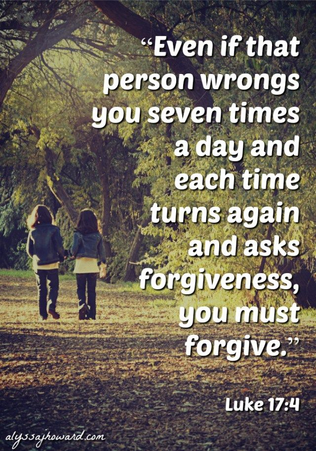 forgiveness and way Heidelberg catechism: lord's day 51 (could be used for a lord's supper service or preparatory) dear congregation, forgive is a big word it's huge, even gigantic.