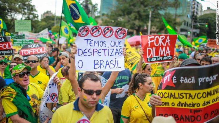 Brazil anger simmers over Petrobas scandal and economy - CNN.com