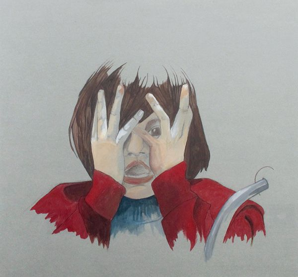 The shining by Isabel Quiles, via Behance
