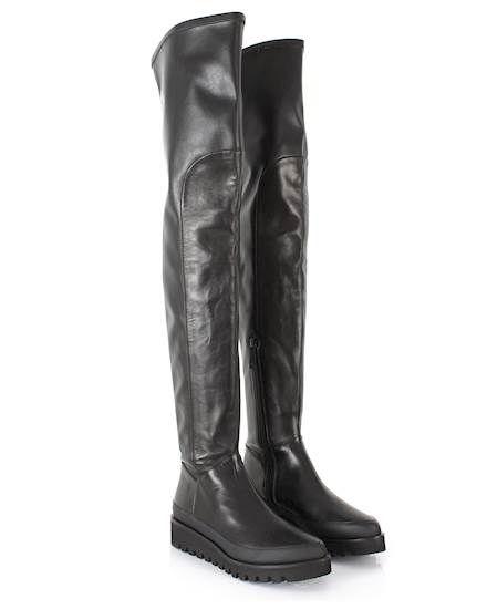 Marcelo Burlon Zwarte hoge laarzen