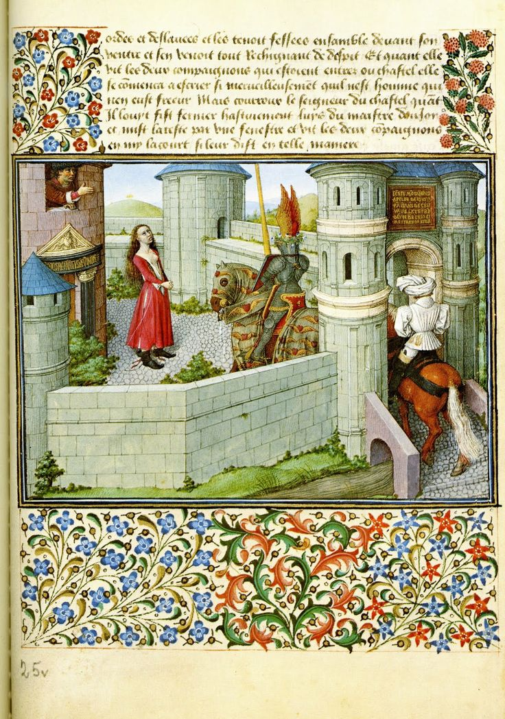 King Rene's Book of Love (Le Livre du Coeur d'Amours Espris) was written in 1457.   Rene d'Anjou rode at Jeanne D'arc's side, gave Columbus his first ship's commission, and was the ultimate renaissance man.