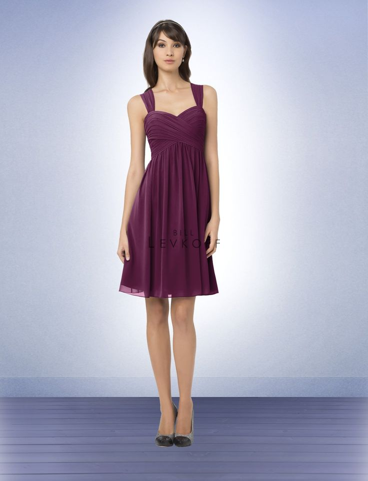 Bridesmaid Dress Style 761 in Sangria, but is this not dark purple enough?