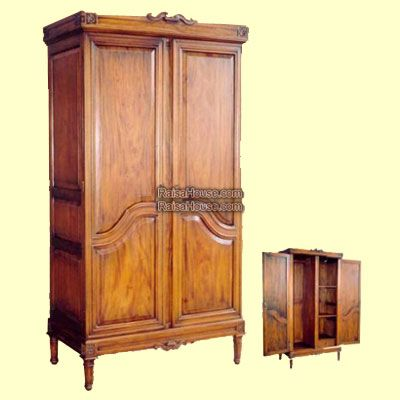 Lyre Wardrobe Louis XVI Refrence : RAR 018 Dimension : 115 x 62 x 222 cm Material : #WoodenMahogany Finishing : #Custom Buy this #Armoire for your #homeluxury, your #hotelproject, your #apartmentproject, your #officeproject or your #cafeproject with #wholesalefurniture price and 100% #exporterfurniture. This #LyreWardrobeLouisXVI has a #highquality of #AntiqueFurniture #FurnitureWarehouse #WoodenFurniture #GalleryFurniture #IndustrialFurniture #FurnitureOnline