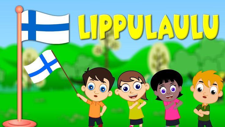 Suomi lippulaulu | Lastenlauluja suomeksi