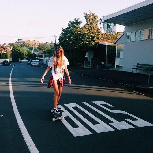Skate + Loira = Paixão
