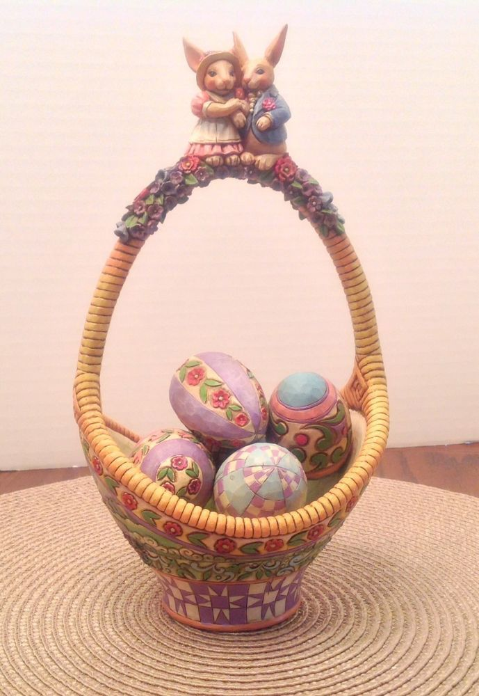 15 best jim shore easter baskets i own images on pinterest 34 jim shore easter basket gathering joy basket w5 eggs 2006 negle Choice Image