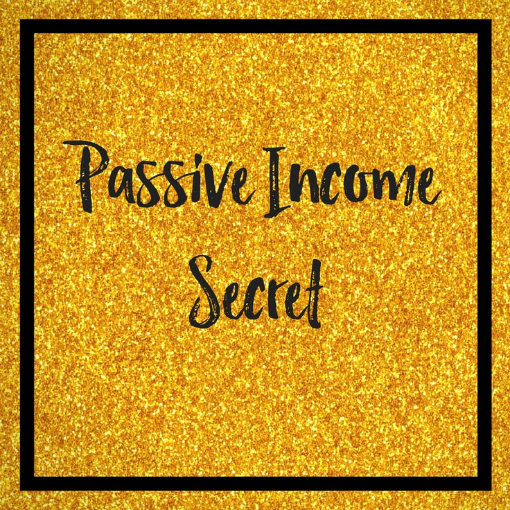 Can I let you in on a little secret about passive income?  Click to read more or pin for later.