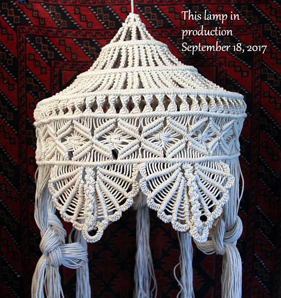 Step by Step  Shell Pattern Lamp