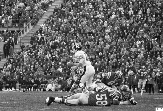 Russ Jackson in the 1969 Grey Cup
