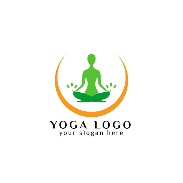 yoga logo design stock meditation vector illustration in 2020 yoga logo design yoga logo logo design yoga logo design stock meditation