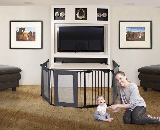 De Dreambaby Brooklyn Converta® is niet alleen erg praktisch maar ook zeer stijlvol en makkelijk in gebruik. | Gebruikt om een object kindveilig te maken.
