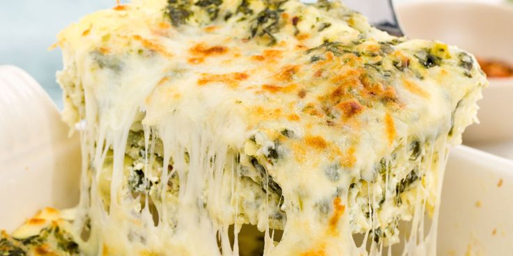 If you know spinach-artichoke dip is the best way to start a party, you can only guess what layering it in lasagna does.