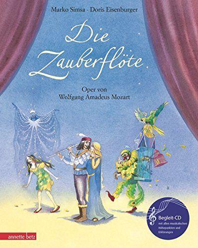 Die Zauberflöte. Oper von Wolfgang Amadeus Mozart (mit Begleitheft)