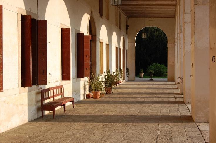 Barchessa della #villa #veneta Ca' #Marcello
