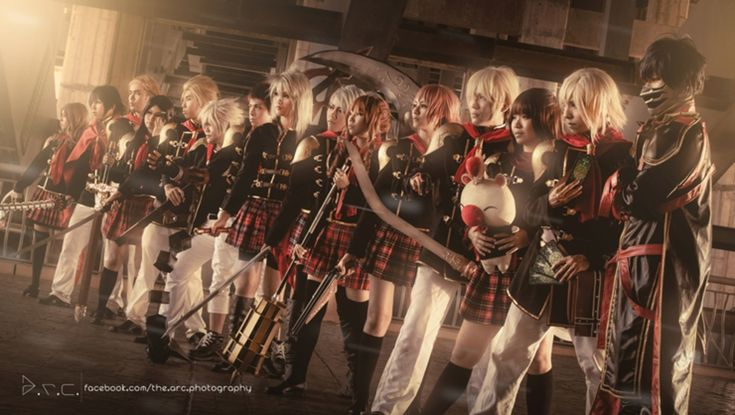 Final Fantasy Type 0 - Machina by KohaneKuroboshi on DeviantArt