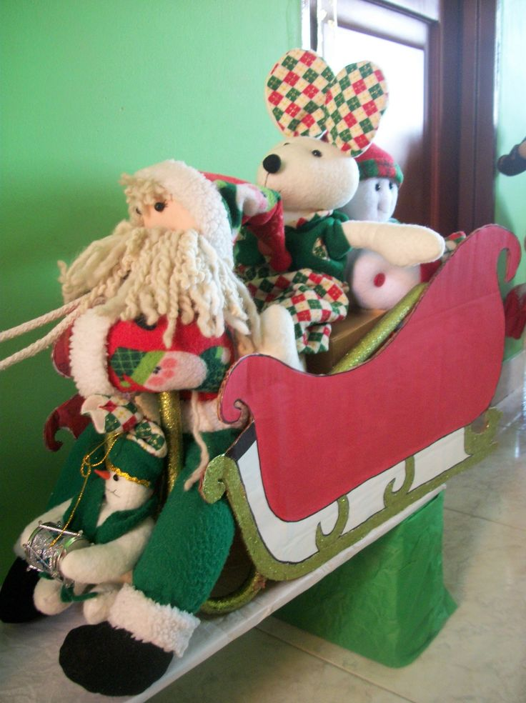 DIY Trineo navideño