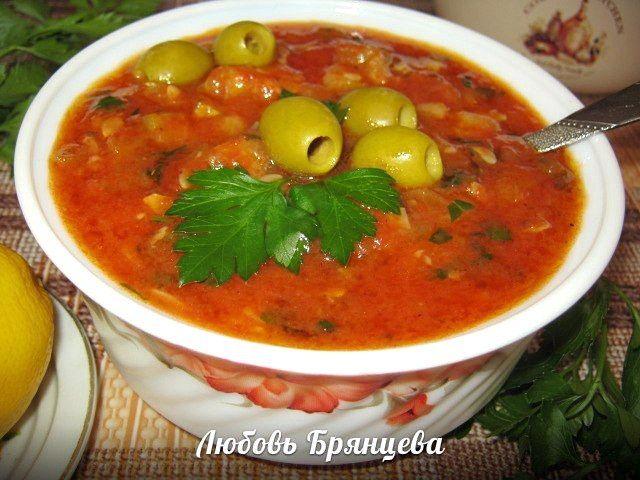 Рецепт: Средиземноморский соус из кабачков