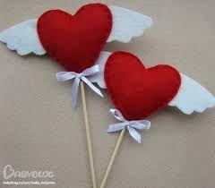 Картинки по запросу сердечки своими руками из ткани