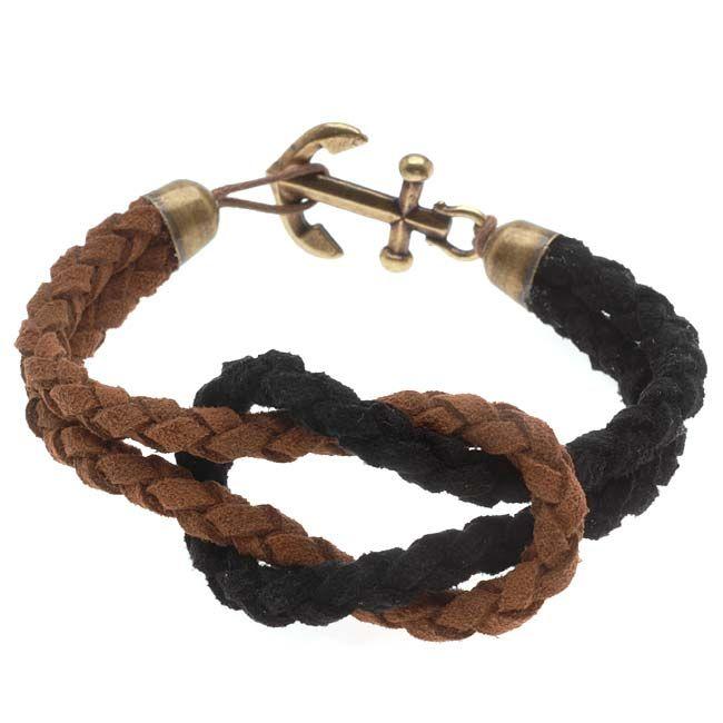 Tutorial - How to: Unisex Anchor Bracelet | Beadaholique