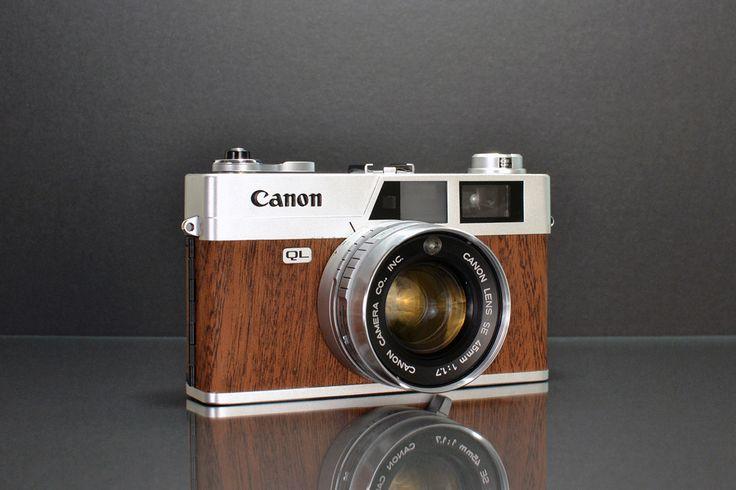 Canonet QL17 Mahogany