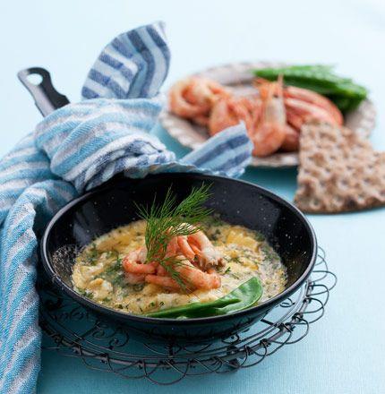 Det här receptet är enkelt att halvera – eller laga som två portionsomeletter. Komplettera kanske med en sallad och en knäckemacka!