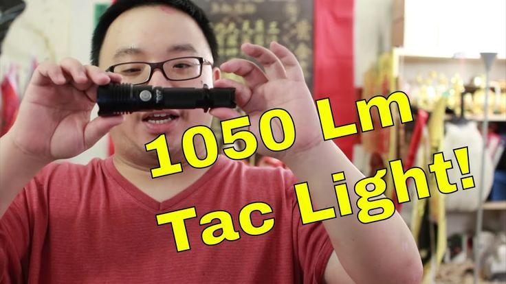 Thrunite TC10 V3 Tactical Flashlight Review - USB Recharge